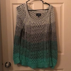 American Eagle ombré sweater